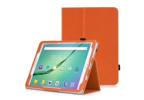 Samsung Galaxy Tab S2 8.0 - Book Case Hoes - Oranje