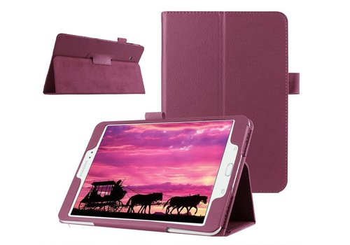 Samsung Galaxy Tab S2 8.0 - Book Case Hoes - Paars