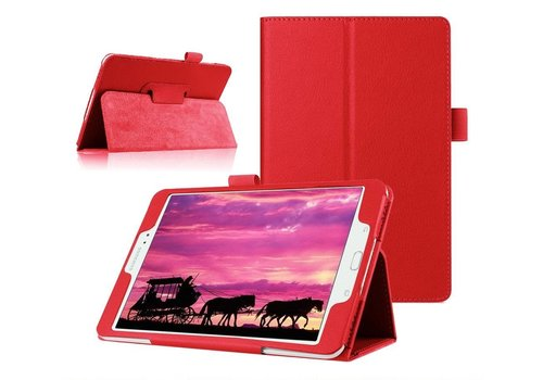 Samsung Galaxy Tab S2 8.0 - Book Case Hoes - Rood