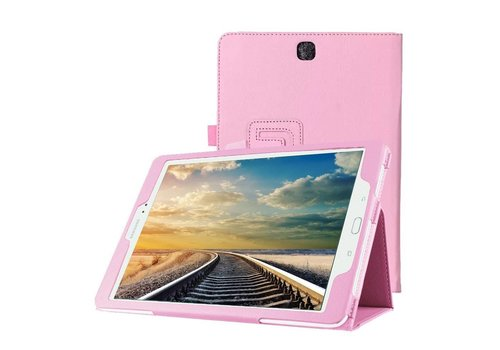 Samsung Galaxy Tab S2 8.0 - Book Case Hoes - Roze