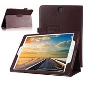 GSMWise Samsung Galaxy Tab A 9.7 - Book Case Hoes - Bruin