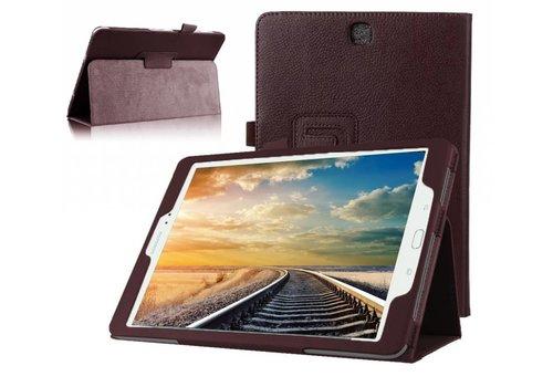 Samsung Galaxy Tab A 9.7 - Book Case Hoes - Bruin
