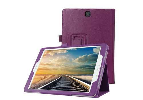 Samsung Galaxy Tab A 9.7 - Book Case Hoes - Paars
