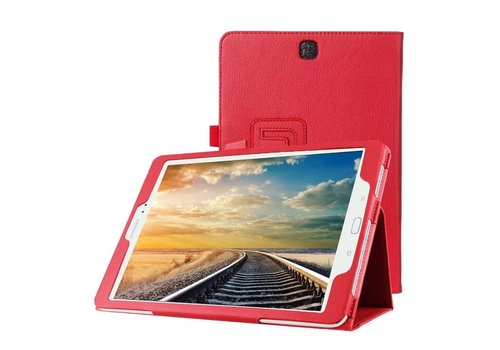Samsung Galaxy Tab A 9.7 - Book Case Hoes - Rood