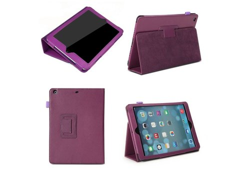 Apple iPad Air 1 (iPad 5) - Book Case Hoes - Paars