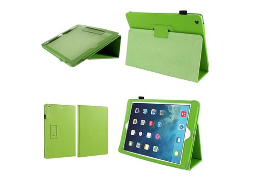 Apple iPad Air 2 (iPad 6) - Book Case Hoes - Groen