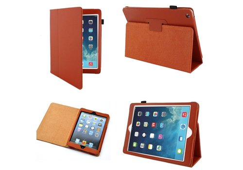 Apple iPad Air 2 (iPad 6) - Book Case Hoes - Oranje