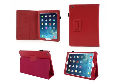 Apple iPad Air 2 (iPad 6) - Book Case Hoes - Rood
