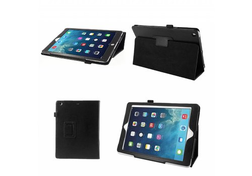 Apple iPad Air 2 (iPad 6) - Book Case Hoes - Zwart