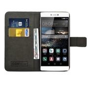 GSMWise Zwart PU lederen Portemonnee hoesje Huawei P8