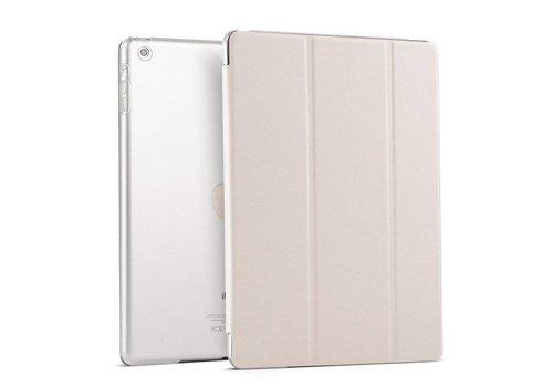 Apple iPad 2 / 3 / 4 - Zachte Zijden Design Tablet Cover - Wit