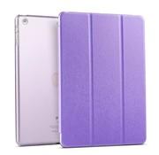 GSMWise Apple iPad 2 / 3 / 4 - Zachte Zijden Design Tablet Cover - Paars