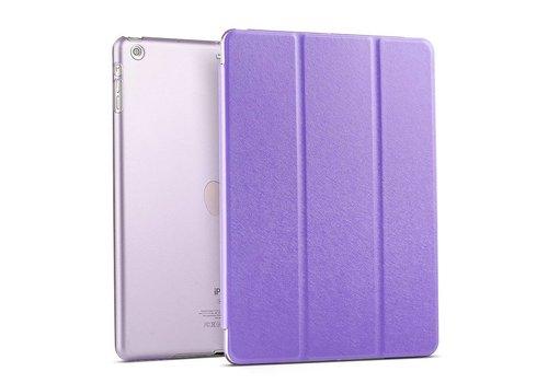 Apple iPad 2 / 3 / 4 - Zachte Zijden Design Tablet Cover - Paars