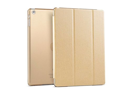 Apple iPad Air 1 (iPad 5) - Zachte Zijden Design Tablet Cover - Goud