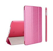 GSMWise Apple iPad Air 2 (iPad 6) - Zachte Zijden Design Tablet Cover - Hot Pink