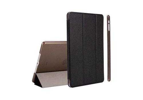 Apple iPad Mini 1 / 2 / 3 - Zachte Zijden Design Tablet Cover - Zwart