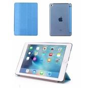 GSMWise Apple iPad Mini 4 -  Zachte Zijden Design Tablet Cover - Blauw