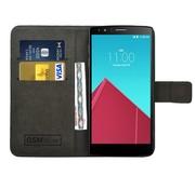 GSMWise Zwart PU lederen Portemonnee hoesje LG G4
