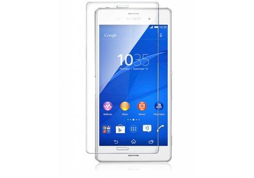 Sony Xperia Z3 Krasbestendige Glazen Screen Protector