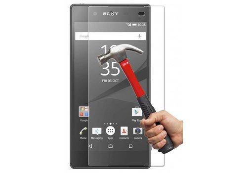 Sony Xperia Z5 Krasbestendige Glazen Screen Protector