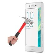 GSMWise Sony Xperia X performance Krasbestendige Glazen Screen Protector