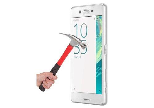 Sony Xperia X performance Krasbestendige Glazen Screen Protector