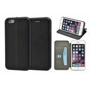 GSMWise GSMWise - iPhone 6 / 6s Hoesje - Volledig Beschermende Slim PU Lederen Portumune Case - Zwart