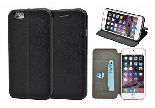 GSMWise - iPhone 6 / 6s Hoesje - Volledig Beschermende Slim PU Lederen Portumune Case - Zwart