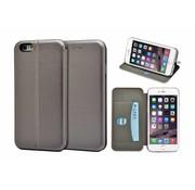 GSMWise GSMWise - iPhone 6 / 6s Hoesje - Volledig Beschermende Slim PU Lederen Portumune Case - Zilver