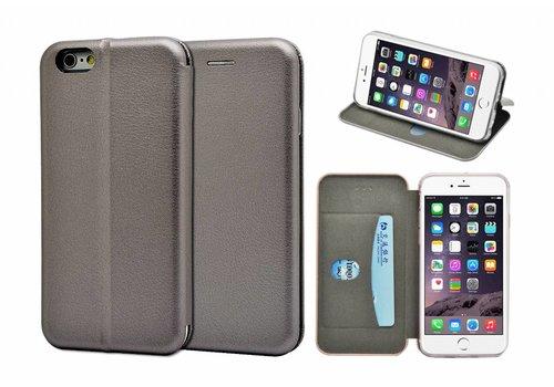 GSMWise - iPhone 6 / 6s Hoesje - Volledig Beschermende Slim PU Lederen Portumune Case - Zilver