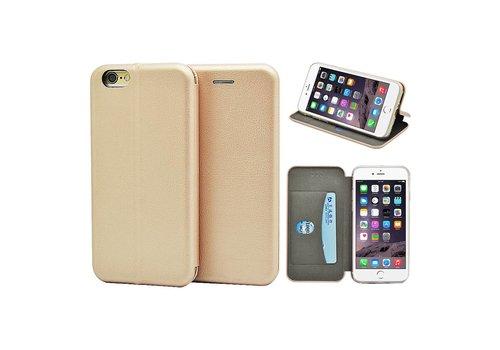 GSMWise - iPhone 6 / 6s Hoesje - Volledig Beschermende Slim PU Lederen Portumune Case - Goud