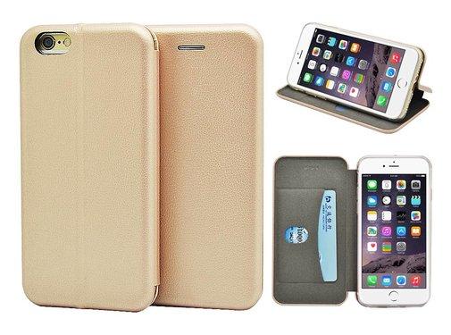 GSMWise GSMWise - iPhone 6 / 6s Hoesje - Volledig Beschermende Slim PU Lederen Portumune Case - Goud