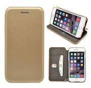 GSMWise GSMWise - iPhone 7 Hoesje - Volledig Beschermende Slim PU Lederen Portumune Case - Goud