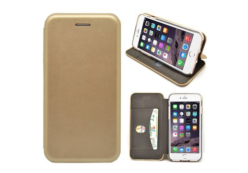 GSMWise - iPhone 7 Hoesje - Volledig Beschermende Slim PU Lederen Portumune Case - Goud