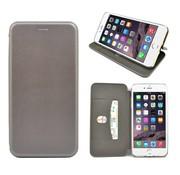 GSMWise GSMWise - iPhone 7 Hoesje - Volledig Beschermende Slim PU Lederen Portumune Case - Zilver
