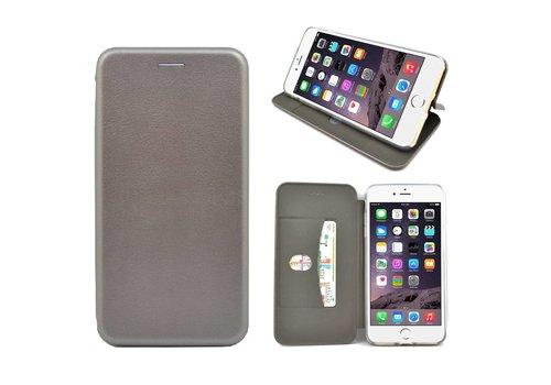 GSMWise - iPhone 7 Hoesje - Volledig Beschermende Slim PU Lederen Portumune Case - Zilver