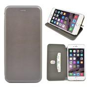 GSMWise GSMWise - iPhone 7 Plus Hoesje - Volledig Beschermende Slim PU Lederen Portumune Case - Zilver