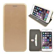GSMWise GSMWise - iPhone 7 Plus Hoesje - Volledig Beschermende Slim PU Lederen Portumune Case - Goud