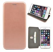 GSMWise GSMWise - iPhone 7 Plus Hoesje - Volledig Beschermende Slim PU Lederen Portumune Case - Rose