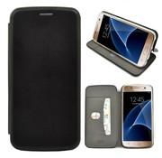 GSMWise GSMWise - Samsung Galaxy S7 Hoesje - Volledig Beschermende Slim PU Lederen Portumune Case - Zwart