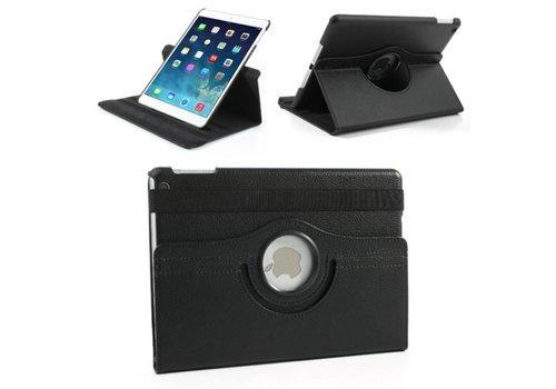 Apple iPad Air 1 (iPad 5) - 360 graden draaibare Hoes - Kleur Zwart