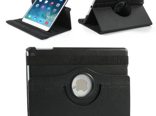 GSMWise Apple iPad Mini 1 / 2 / 3 - 360 graden draaibare Hoes - Kleur Zwart