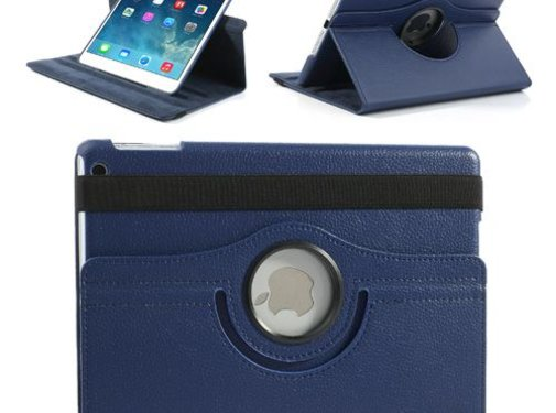 GSMWise Apple iPad Air 1 (iPad 5) - 360 graden draaibare Hoes - Kleur Donker Blauw