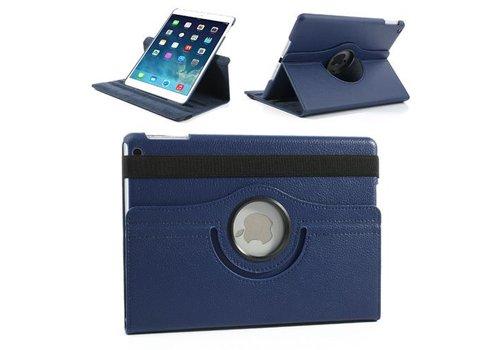 Apple iPad Mini 1 / 2 / 3 - 360 graden draaibare Hoes - Kleur Donker Blauw