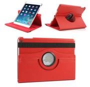 GSMWise Apple iPad 2 / 3 / 4 - 360 graden draaibare Hoes - Kleur Rood