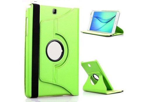 Samsung Galaxy Tab S2 8.0 T715 / T710 Swivel Case 360 graden Draaibare Beschermhoes Tablethoes Cover Hoes met Multi-stand - Kleur Groen