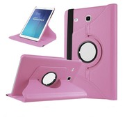 GSMWise Samsung Galaxy Tab E 9.6 T560 / T561 Swivel Case 360 graden Draaibare Beschermhoes Tablethoes Cover Hoes met Multi-stand - Kleur Roze
