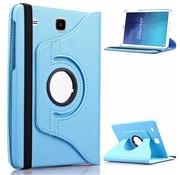 GSMWise Samsung Galaxy Tab E 9.6 T560 / T561 Swivel Case 360 graden Draaibare Beschermhoes Tablethoes Cover Hoes met Multi-stand - Kleur Hemelsblauw / Aqua