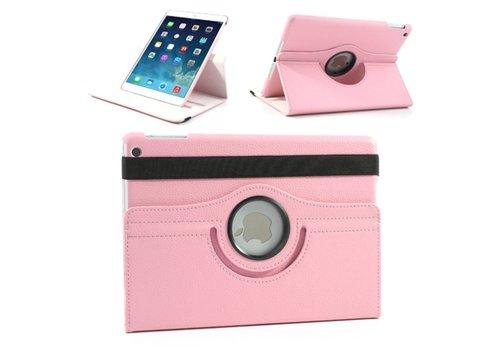 Apple iPad Mini 4 - 360 graden draaibare Hoes - Kleur Roze