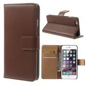 GSMWise Bruin PU lederen Portemonnee hoesje iPhone 6/6S Plus